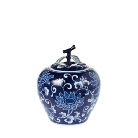 Riverdale Ceylon pot dark blue 403110