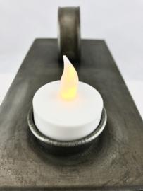 Waxinelichthouder Metaal