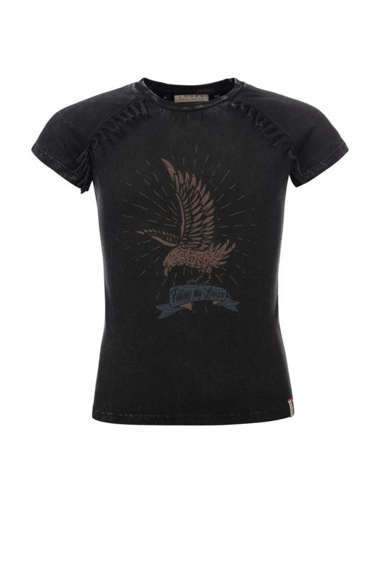 Looxs shirt met franjes
