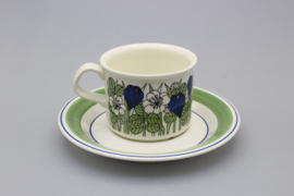 CUP AND SAUCER 0.18L - COLOUR
