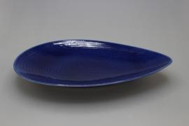 FLAT DISH 28 CM (BLUE)