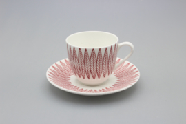 COFFEE CUP AND SAUCER (B)