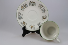 TRADITION CUP AND SAUCER