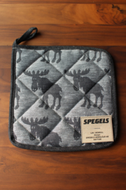 OVEN CLOTH ELK BLACK