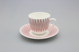 COFFEE CUP AND SAUCER (A)
