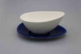 SAUCE BOAT AND DISH