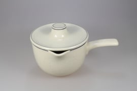 SAUCE BOAT WITH LID