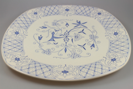 SERVING PLATE 'MOUNTAIN BLUE'