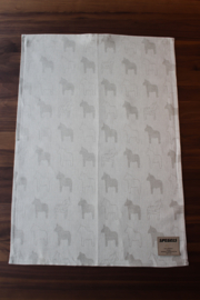 TEA TOWEL DALA HORSE NATURAL