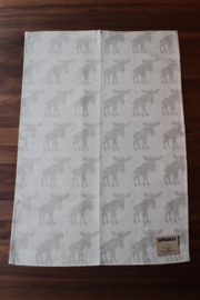 TEA TOWEL ELK NATURAL