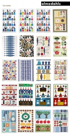 "DESIGNER TEA TOWEL ""JUL"" (X-MAS)"