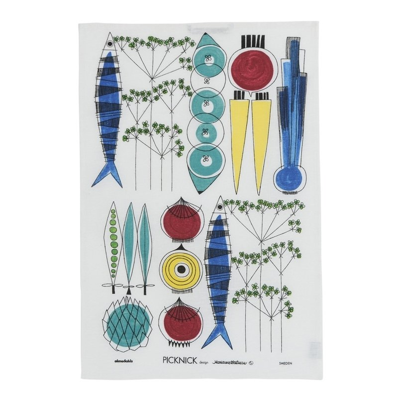"DESIGNER TEA TOWEL ""PICKNICK"""