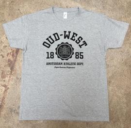 Oud-West T-Shirt Heren Heather Grey