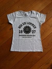 Bos en Lommer Ladyfit T-Shirt Heather grey