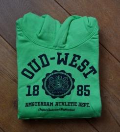 Oud-West Kids Lime Green Hoodie