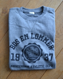 Bos en Lommer Sweater Heren Dark Grey Heather