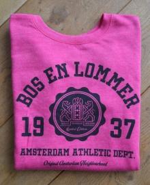 Bos en Lommer Sweater Dames Pink Heather
