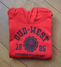Oud-West Kids Red Hoodie