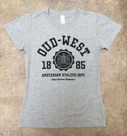 Oud-West T-Shirt Dames Heather Grey