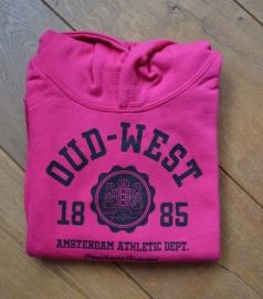 Oud-West Kids Hot Pink Hoodie