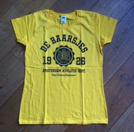 De Baarsjes Ladyfit T-shirt Yellow