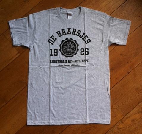 De Baarsjes T-Shirt Heather Grey