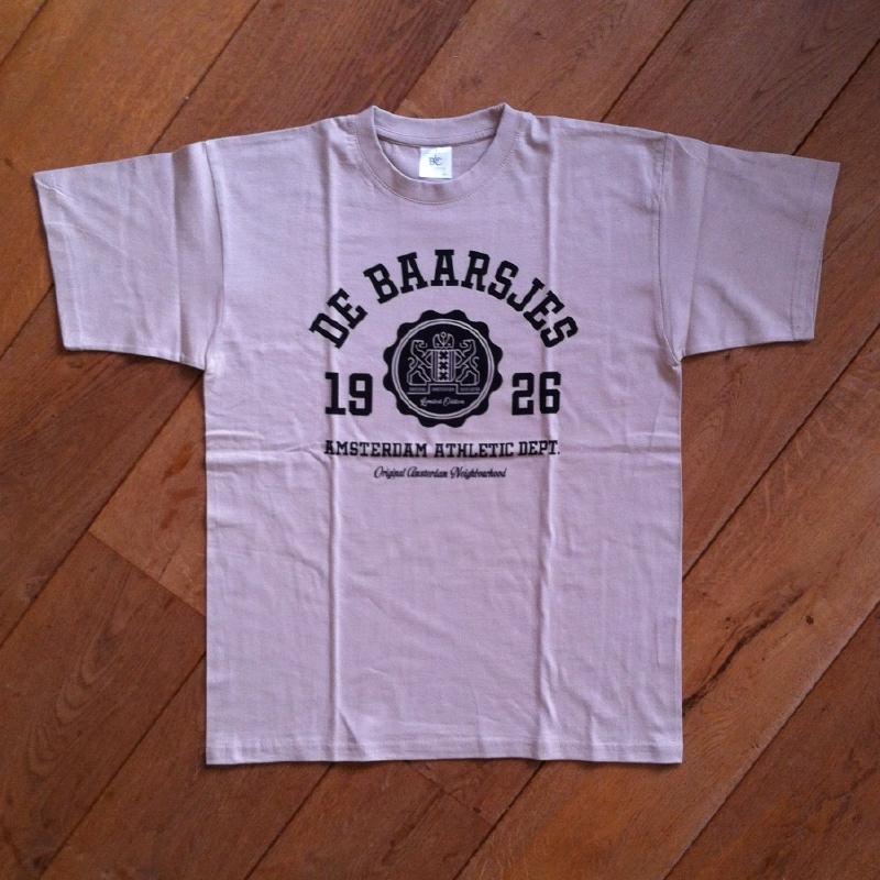 De Baarsjes T-Shirt Sand