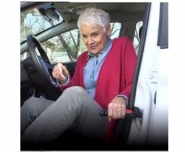 Handybar-Car Handle opstahulp -noodhamer