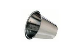 Medicijn cup/ bekertje RVS 50 cc met maataanduiding