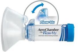 Aero Chamber Flo-Vu  Groot masker