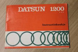 instructieboekje Datsun  1200  serie 1972