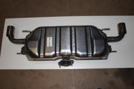 Uitlaat achterdemper Mazda 3 HB5 model 2013 - 2016