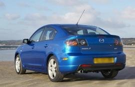 Gebruikte achterbumper Mazda3 sedan