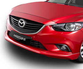 Voorbumper spoiler (lip) Mazda 6 model 2012-2016 sedan en sportbreak GHP9-V4-900