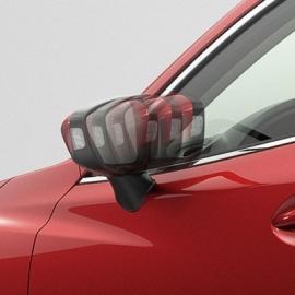 Mirror folder voor de Mazda CX-5, spiegels klappen automatisch in