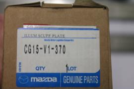 RVS instaplijsten met verlichting Mazda 5 model 2010 CG15-V1-370