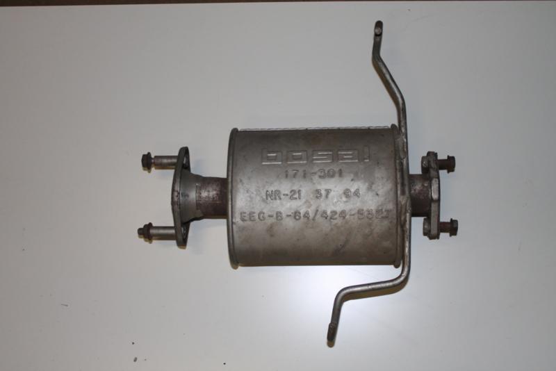 Bosal uitlaat voordemper 171-301 Mazda 626 1987