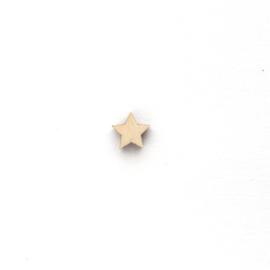 Houten sterretje 10mm | KLEIN