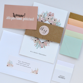 PROEFPAKKETJE | trouwkaart