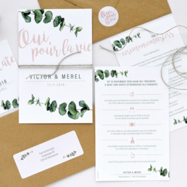 Trouwkaart | EUCALYPTUS WEDDING
