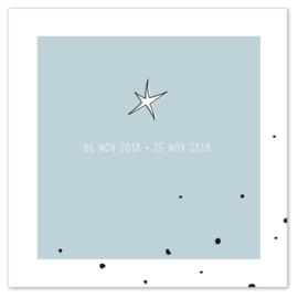 Miskraamkaartje | LITTLE STAR