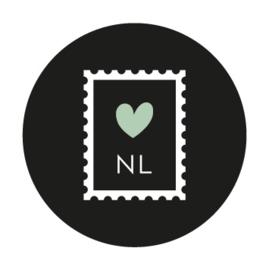 VERZENDSERVICE - per kaart met postzegel NL
