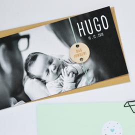 Geboortekaartje jongen | DAG JONGEN!