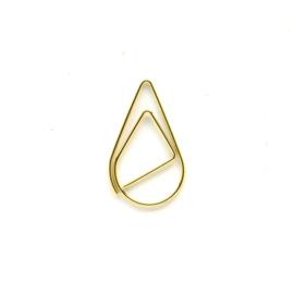 Paperclip metaal 33mm | set van 10 stuks | GOLD DROP