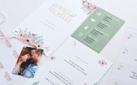 Trouwkaart | SPRING FLOWERS