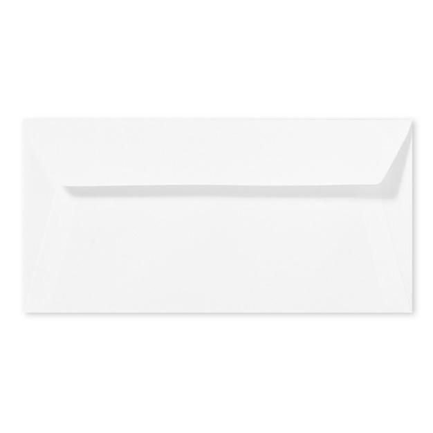 Envelop 11x22 cm | zelfklevend | WIT