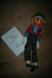 Porseleinen pop clown