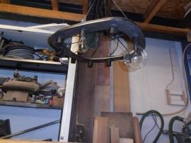 Blank stalen hanglamp, maatwerk in opdracht van only