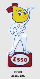 Esso Emaille bord 36x80 cm