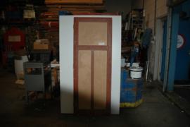 No. 29 tweevlaks stompe paneeldeur 74,5 x 195